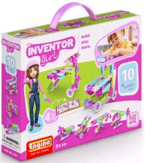 Конструктор inventor Engino girls набор из 10 моделей артикул IG10