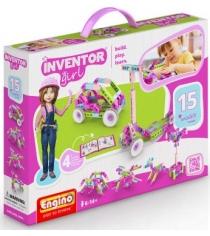 Конструктор inventor Engino girls набор из 15 моделей артикул IG15