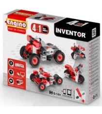 Конструктор inventor Engino мотоциклы 4 модели артикул PB 12