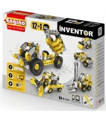 Конструктор inventor Engino спецтехника 12 моделей артикул PB 34