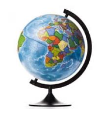 Globen Земли политический 320