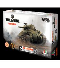 3D Пазл Hobby World world of tanks m4 sherman масштукабная модель 1:56 1631