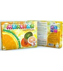 Набор для мыловарения Инновации для детей мыльная мастерская тропический микс 744