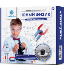 Набор для опытов Intellectico Юный Физик Магнитный лабиринт 211