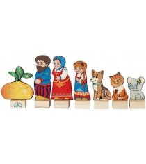 Набор Краснокамская игрушка Персонажи сказки Репка Н-19