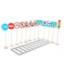 Игровой набор Краснокамская игрушка Знаки дорожного движения Н-21
