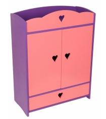 Набор кукольной мебели Краснокамская игрушка Шкафчик с выдвижным ящиком КМ-01