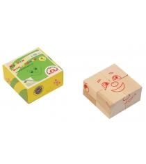 Кубики Краснокамская игрушка Настроения КУБ-05