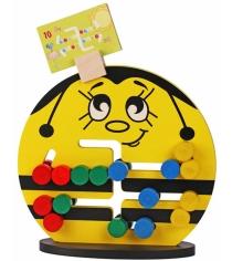 Логическая игра Краснокамская игрушка Пчелка ЛИ-04