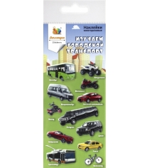 Набор наклеек Липляндия Городской транспорт 0228