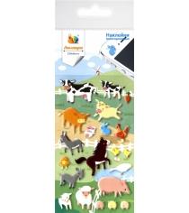 Набор наклеек Липляндия Животные на ферме 0587