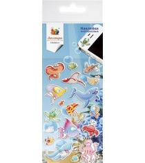 Набор наклеек Липляндия рыбы 2116