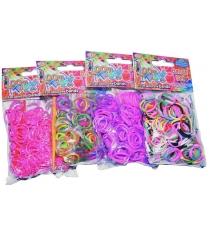 Резиночки для плетения Loom twister набор цветных резинок для плетения фенечек артикул SV11675