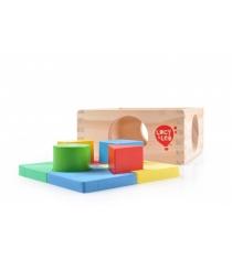 Деревянные развивающие игрушки Lucy Leo занимательная коробка артикул LL112