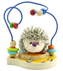 Деревянная развивающая игрушка МДИ Лабиринт Ежик Д385