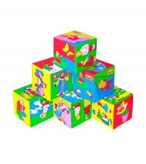 Развивающие кубики Мякиши сказка артикул 2