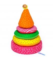 Пирамидка для детей Мякиши пирамидка артикул 31