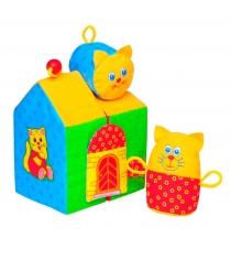 Мягкая развивающая игрушка Мякиши кошкин дом артикул 48