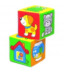Кубики Мякиши Чей домик 111
