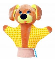 Мягкая развивающая игрушка Мякиши рукавичка собачка артикул 123