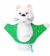 Мягкая развивающая игрушка Мякиши рукавичка котенок артикул 124