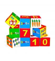 Развивающие кубики Мякиши умная математика артикул 177