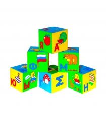 Развивающие кубики Мякиши умная азбука артикул 206