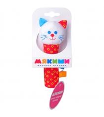 Мягкая развивающая игрушка Мякиши шумякиши котик артикул 282