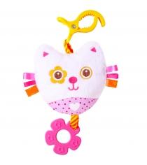 Мягкая развивающая игрушка Мякиши Шумякиши Котёнок 348