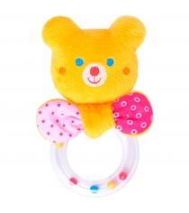 Мягкая развивающая игрушка Мякиши ШуМякиши Тед с колечком 354