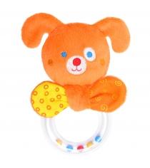 Мягкая развивающая игрушка Мякиши ШуМякиши Гуф с колечком 358