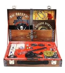 Игровой набор Новый формат Сундук пирата 20456