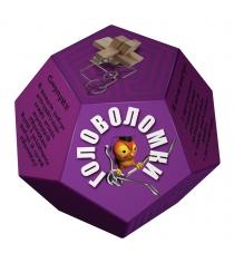 Набор головоломок додекаэдр фиолетовый Новый формат 80370
