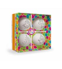 Набор для творчества Шар-папье Елочные игрушки 4 шара В0270Т