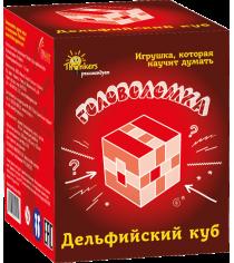 Игра головоломка Thinkers дельфийский куб 706