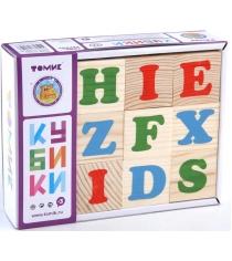 Развивающие кубики Томик Алфавит английский 1111-2