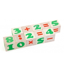 Развивающие кубики Томик Цифры 1111-3
