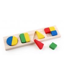 Деревянная развивающая игрушка Томик Геометрия большая 322