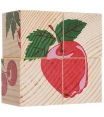 Развивающие кубики Томик Фрукты ягоды 3333-2