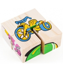 Развивающие кубики Томик Игрушки 3333-3