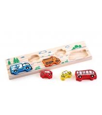 Деревянная развивающая игрушка Томик Транспорт 362