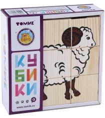 Развивающие кубики Томик Домашние животные 4444-3