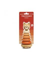 Пирамидка для детей Томик котенок 7 деталей артикул 501