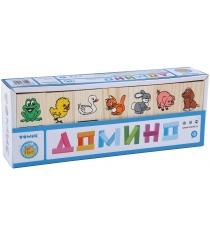Детское домино Томик Животные 5555-1