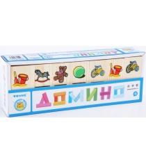 Детское домино Томик Игрушки 5555-3
