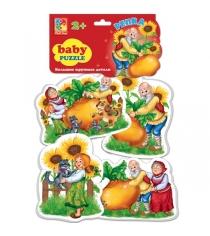Развивающая книжка Vladi Toys Репка VT1106-34