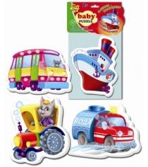 Пазлы для малышей Vladi Toys транспорт артикул VT1106-08