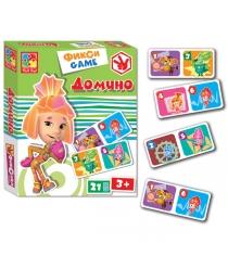 Настольная игра Vladi Toys домино фиксики VT2107-01