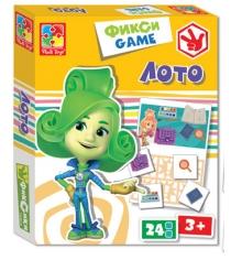 Настольная игра Vladi Toys лото фиксики VT2107-03