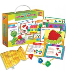 Игра Vladi Toys Больше чем Цвета и Фигуры VT2801-10